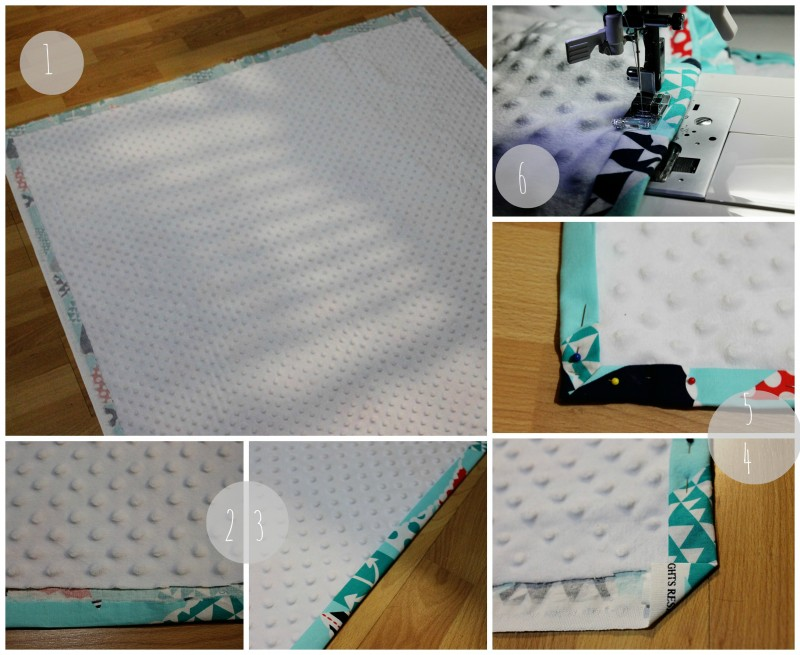 How to make your own baby blanket