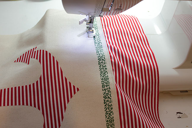 Sewing your own pillow
