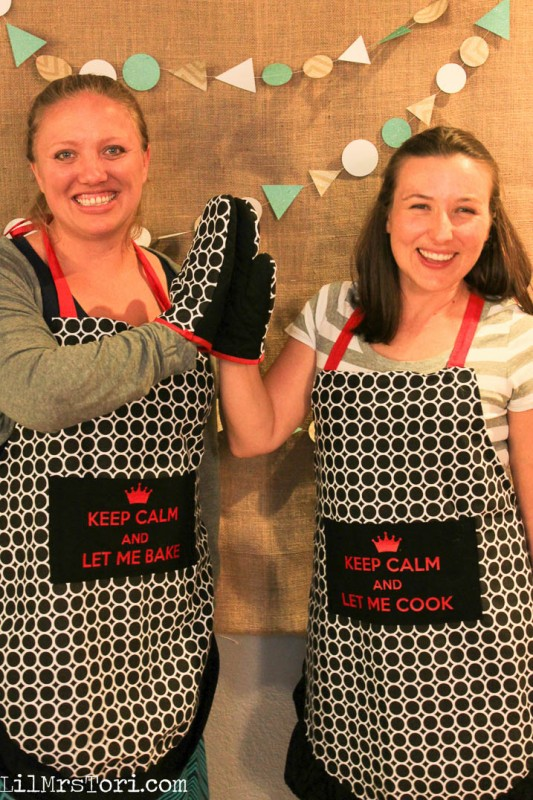 decorating aprons with Heat transfer vinyl