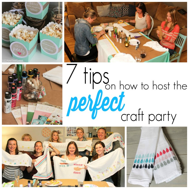 How to host the perfect craft party