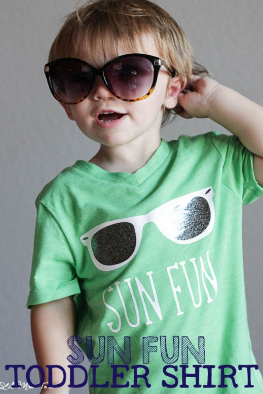 DIY Summer Toddler Shirt